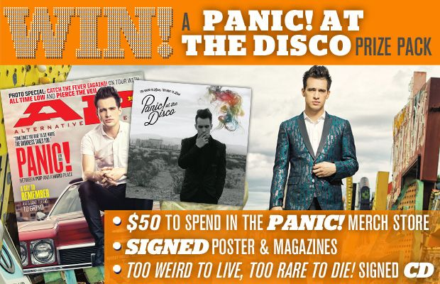 Win A Panic! At The Disco Prize Pack! - Alternative Press