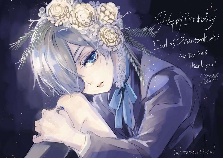 Akumadeenglish Happy Birthday Ciel Thank Kurotwins Happy