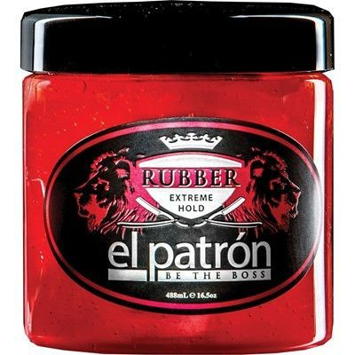 EL PATRON EXTREME HOLD RUBBER STYLING GEL 10.5 OZ