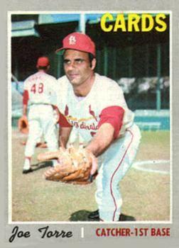 190 Joe Torre St Louis Cardinals Baseball Cards Baseball