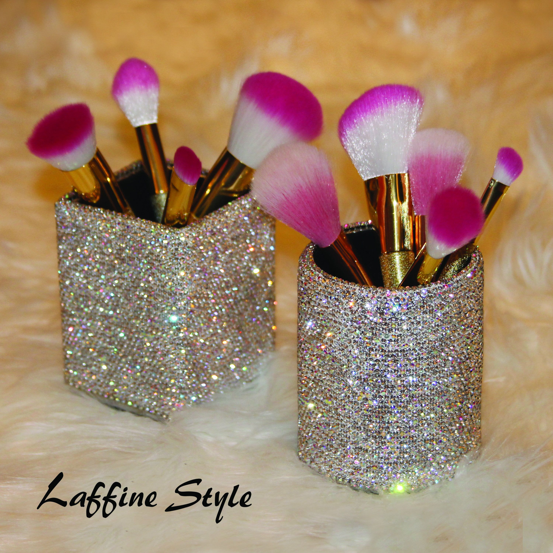 Beautiful Vanity Super Sparkle Bling Make Up Brush, Hair