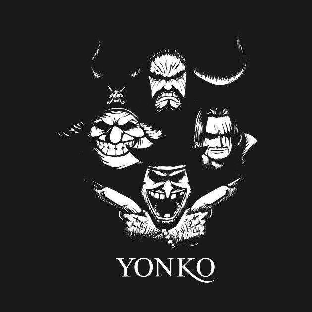Check out this awesome 'Yonko' design on @TeePublic! | Animes wallpapers, Desenhos para tatuagem ...
