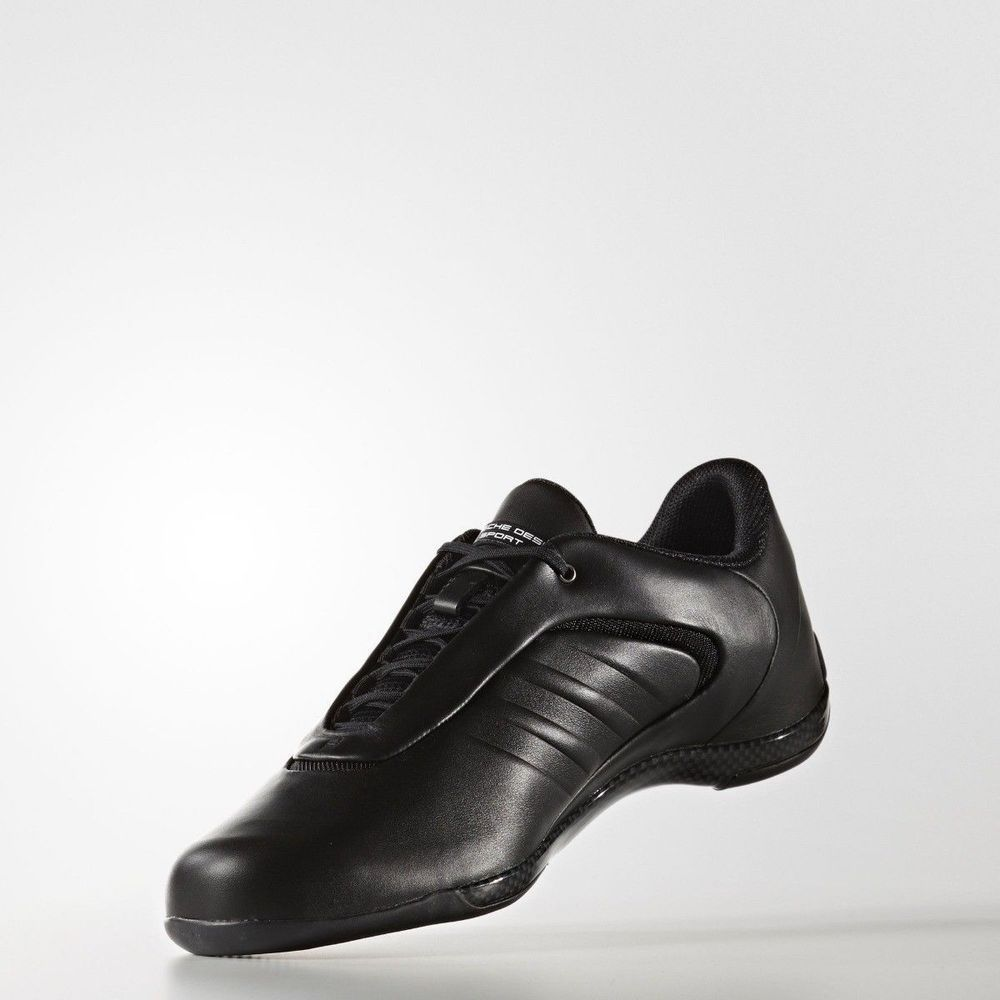 quality design d29d2 0cf25 Adidas Porsche Design Drive Athletic III Black Shoes Bounce Mens Leather  B34158