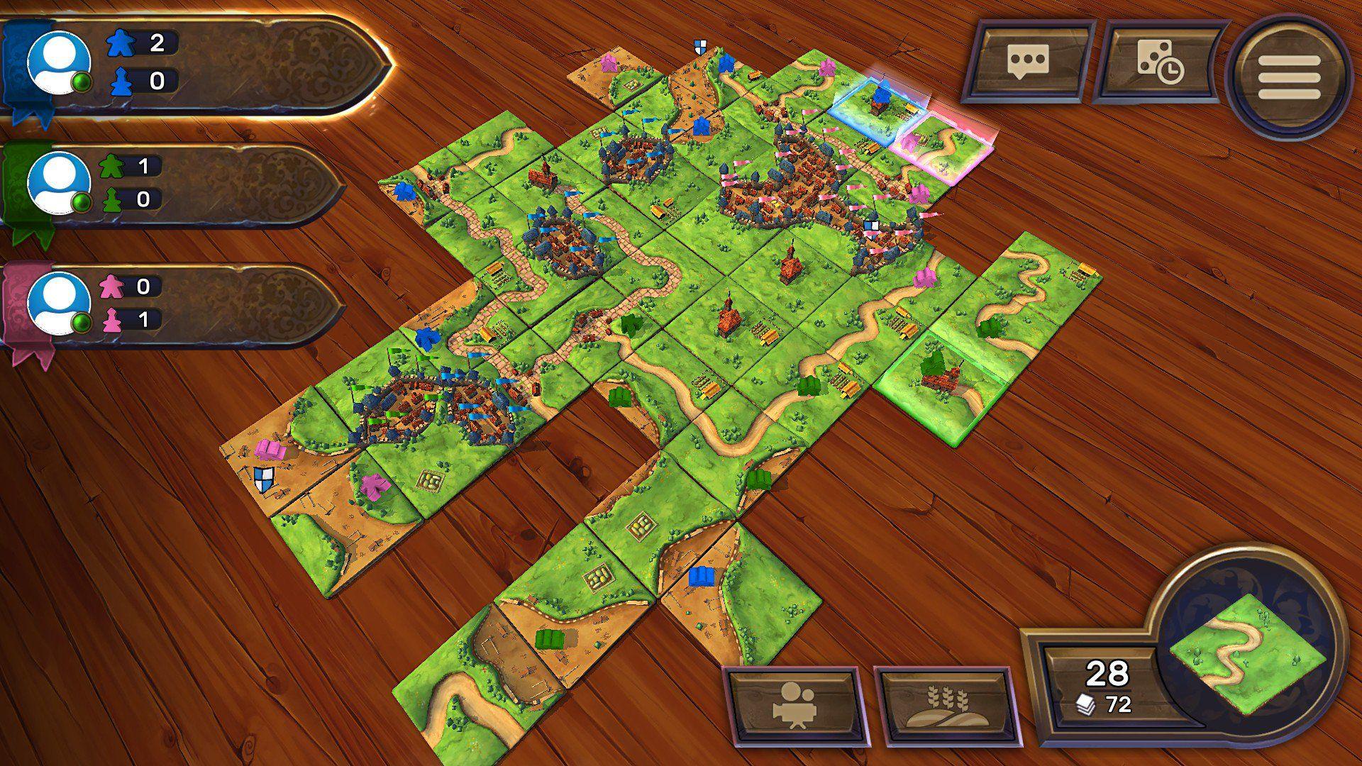Review Carcassonne Tiles & Tactics Fun board games
