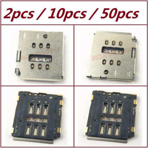 Lot Oem Nano Mini Micro Sim Card Reader Slot Socket Holder For Iphone 7 8 Plus Iphone Iphone Repair Mini Micro