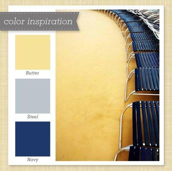 Yellow Room Color Palettes: Room Colors, Blue