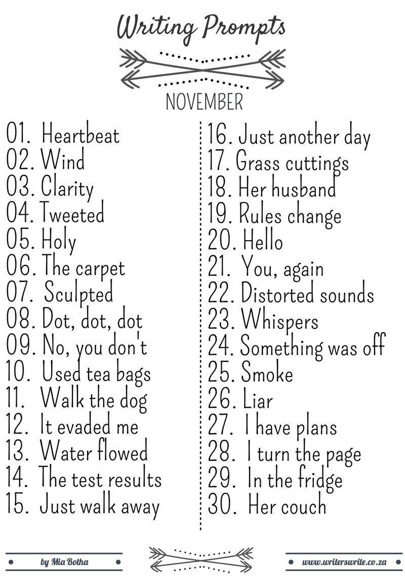 31 Writing Prompts | Overcome Writer's Block | Pinterest | Writing ...