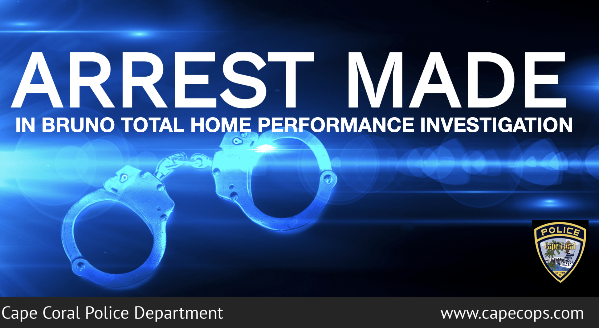 Arrests Made In The Bruno Total Home Performance