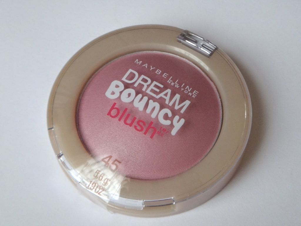 maybelline's dreamy bouncy blush...in orchid hush,,,i layer it on top of my powder blush, gives a fresh, dewy glow