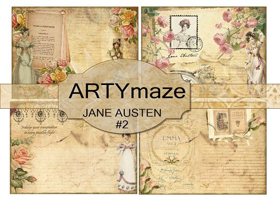 Check out this item in my Etsy shop https://www.etsy.com/uk/listing/521803777/jane-austen-digital-journal-kit-2