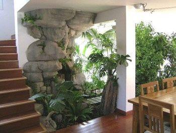 diseos de jardines interiores