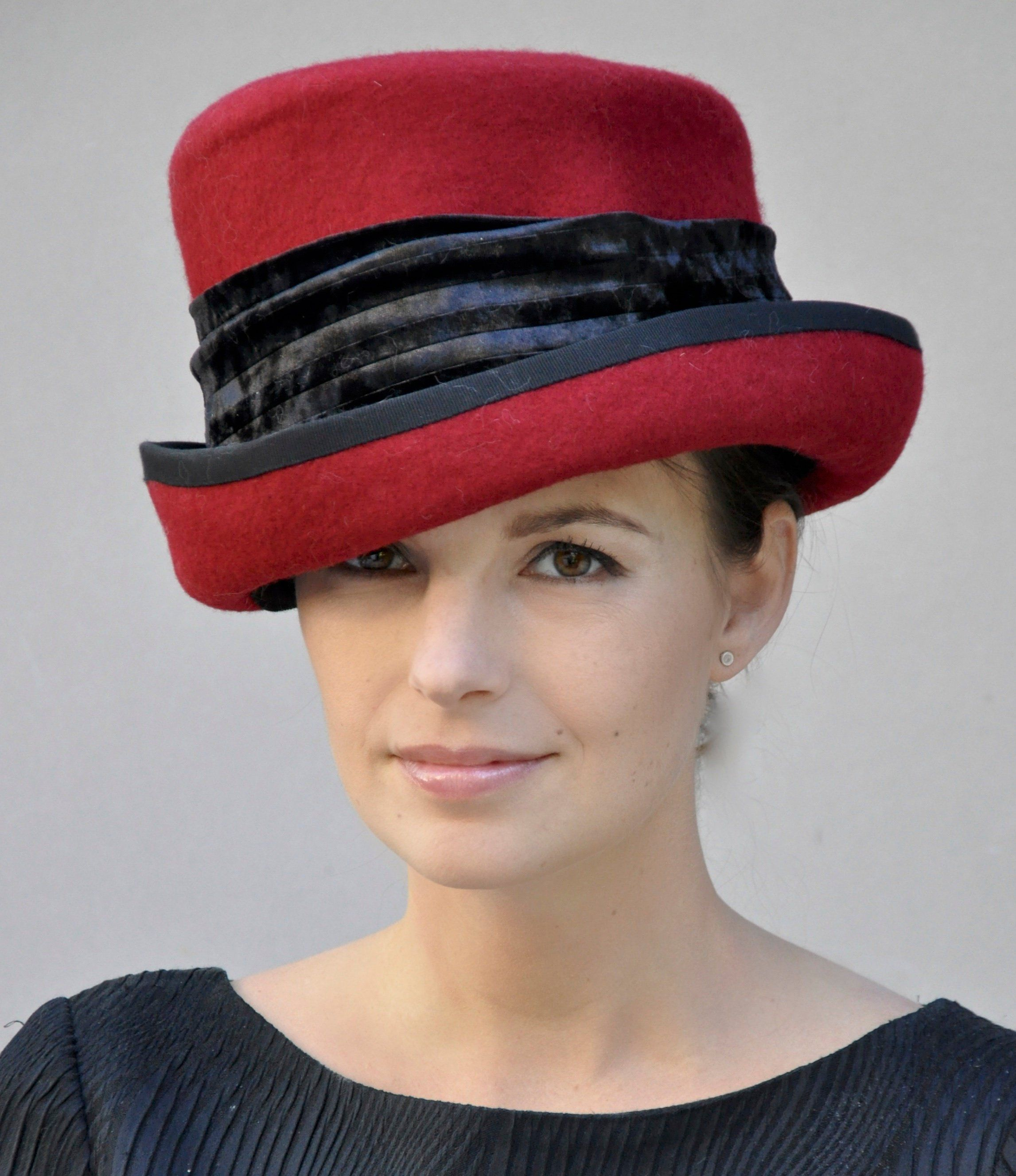 Ladies Red Winter Hat c67bf4df0