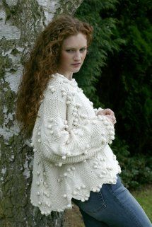 Hand Knitted Cardigans, Jumpers, Sweaters and Jackets Siobhan Jumper | Helen McCabe Knitwear