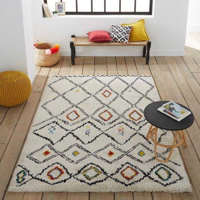 Ustril Berber-Style Rug Berber rug, Living room ideas and Living rooms - store bois tisse exterieur