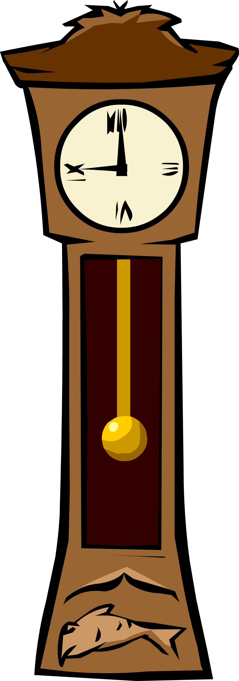 grandfather clock clipart yahoo search results yahoo image search rh pinterest com Wall Clock Clip Art Cartoon Clock Clip Art