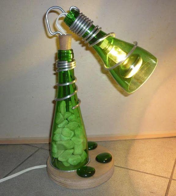 20 Maneiras De Reciclar Vidros Ideas Botellas De Vidrio