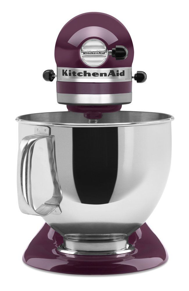 Kitchenaid Pro 600 Colors want a purple mixer? boysenberry is a great shade for a great