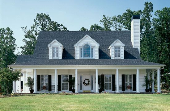 The Merrifield House Plan Images See Photos Of Don Gardner House Plansfarmhouse Country Style House Plans Farmhouse House House Exterior