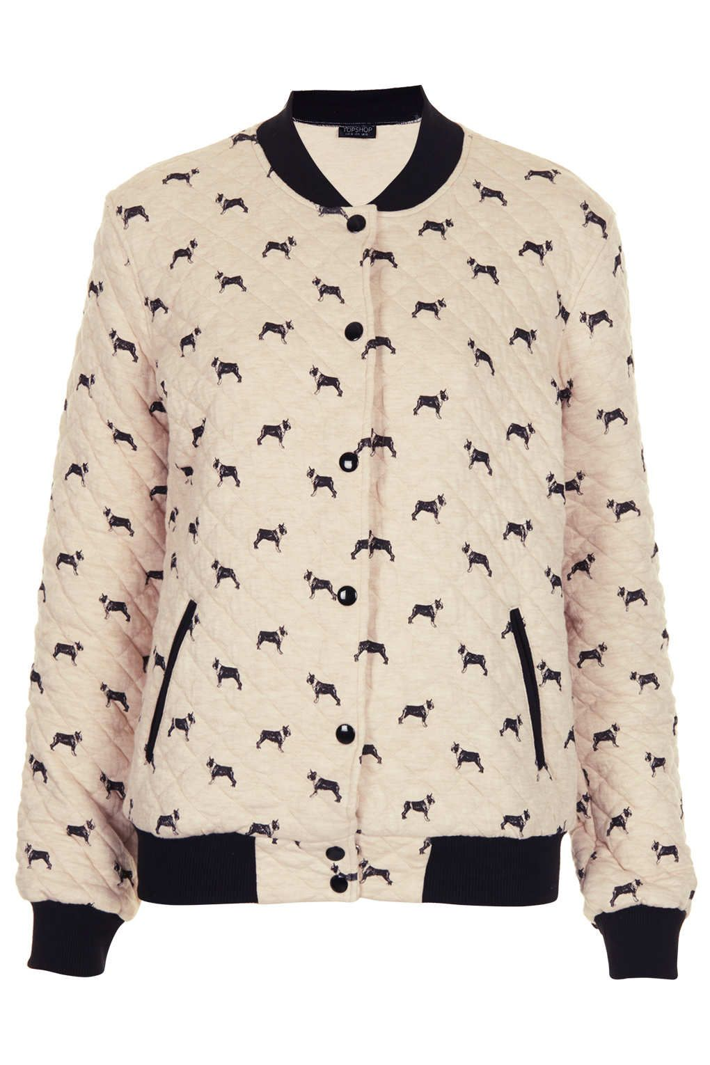 A Beautiful Bomber Jacket with #bostonterrier pattern from ...