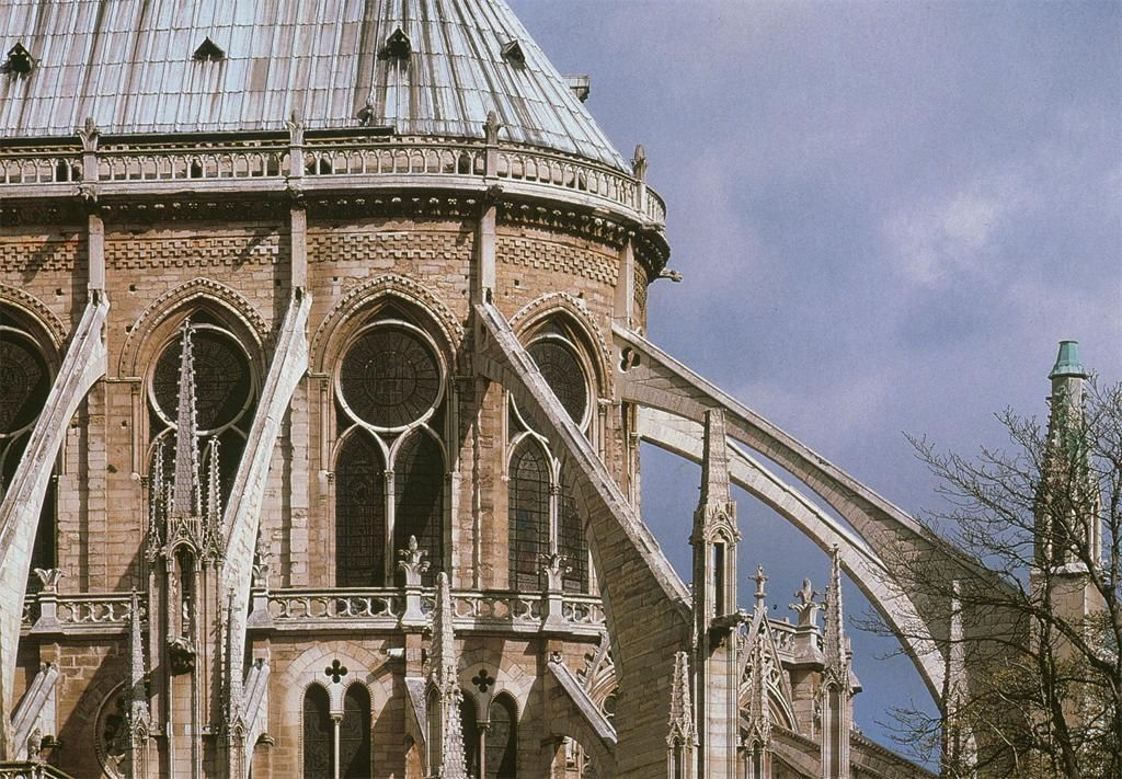 Flying Buttress In Gothic Architecture Gothic Flying