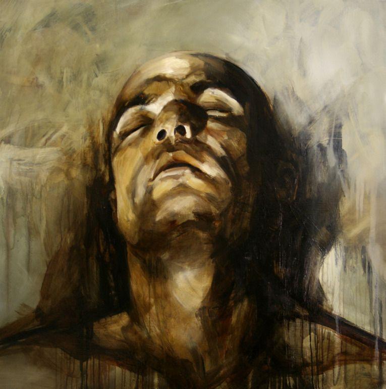 "Margarita Georgiadis; Oil, 2008, Painting ""Internal"""