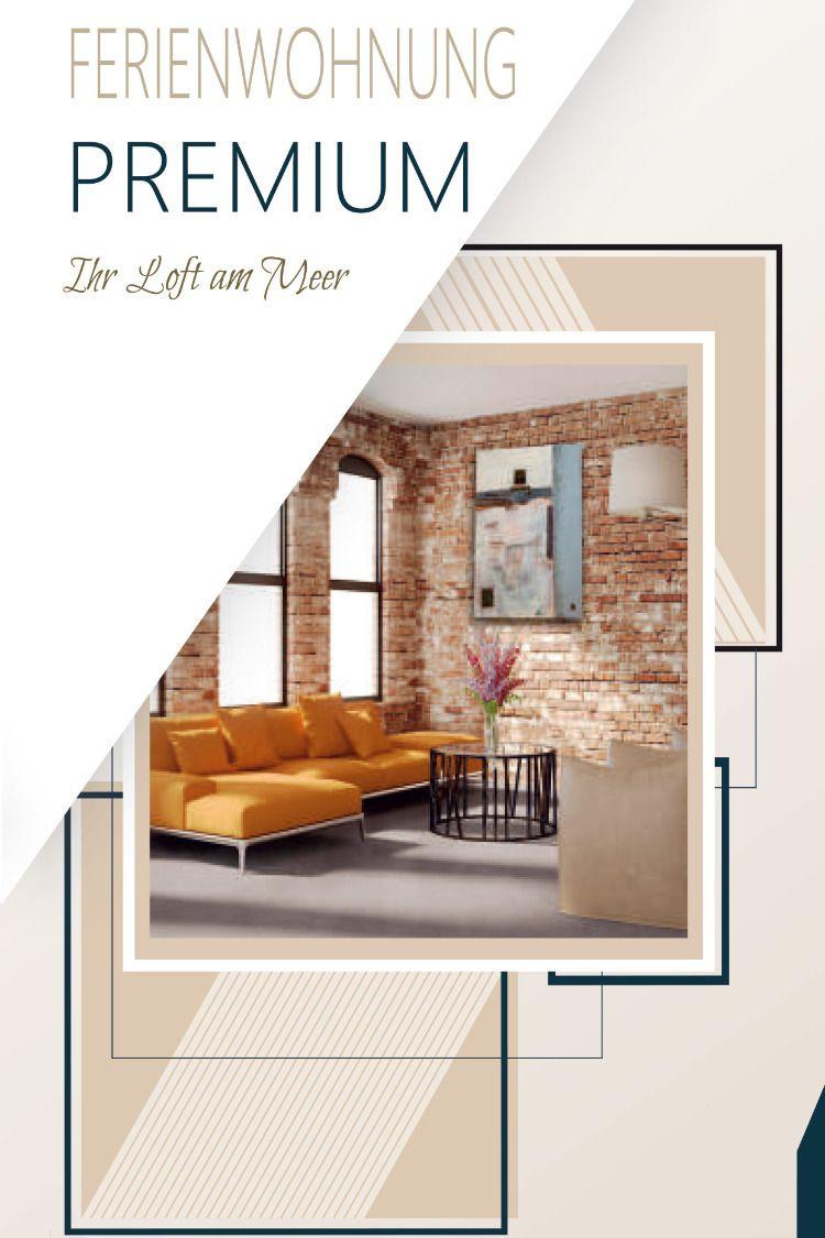 Flyer Vorlage Fur Ferienwohnungen Loft Ferienwohnung Layout Design Flyer Vorlage