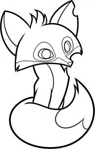 How To Draw An Animal Jam Fox Step 8 Animal Jam Drawings Animal Coloring Pages Animal Drawings