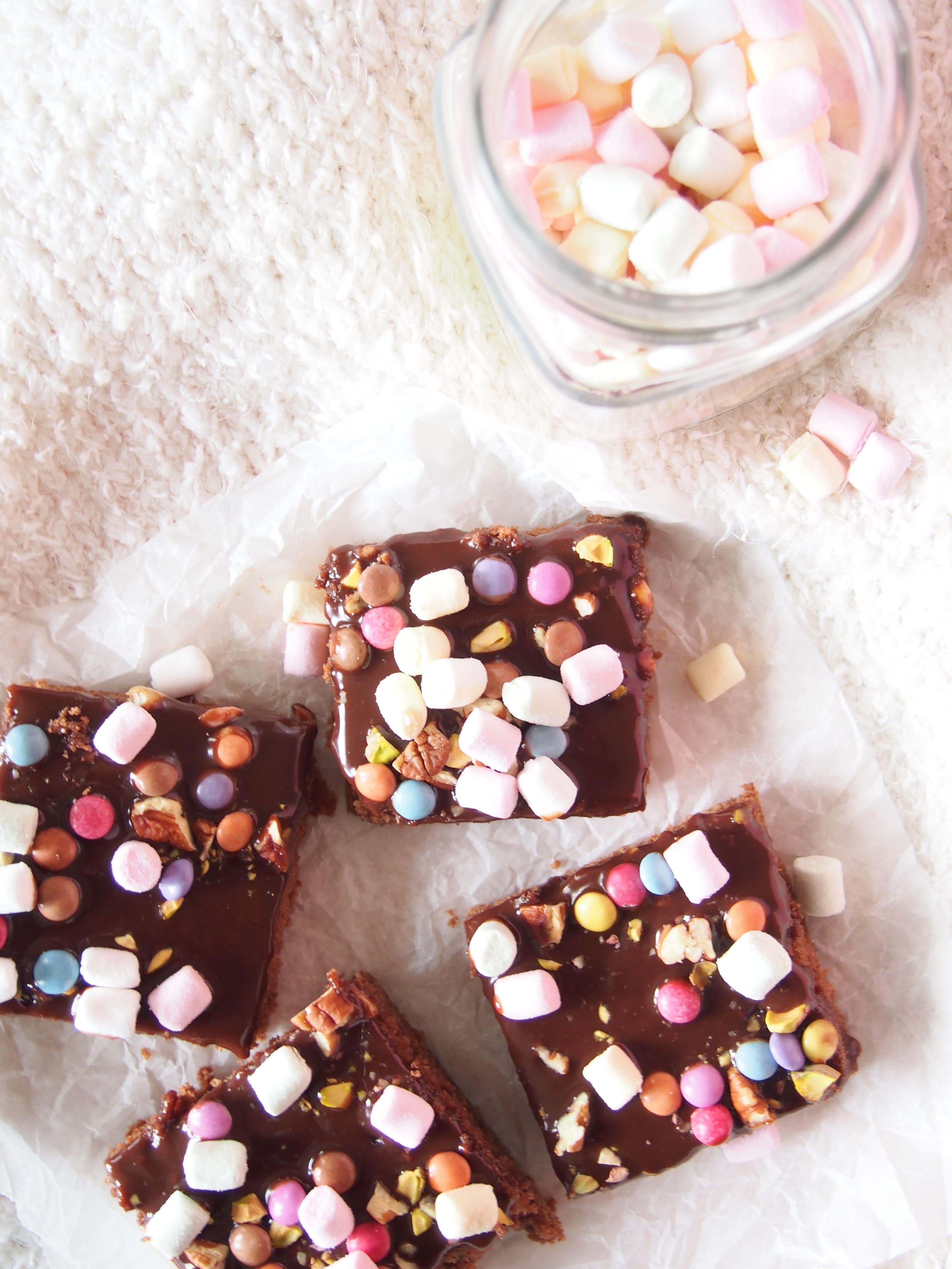 Rocky Road Brownies #drsugar