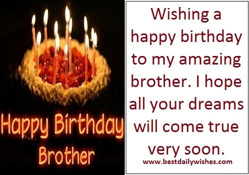 Pin by bestdailywishes on birthday wishes in 2018 pinterest birthday wishes for elder brother best daily images greetings m4hsunfo