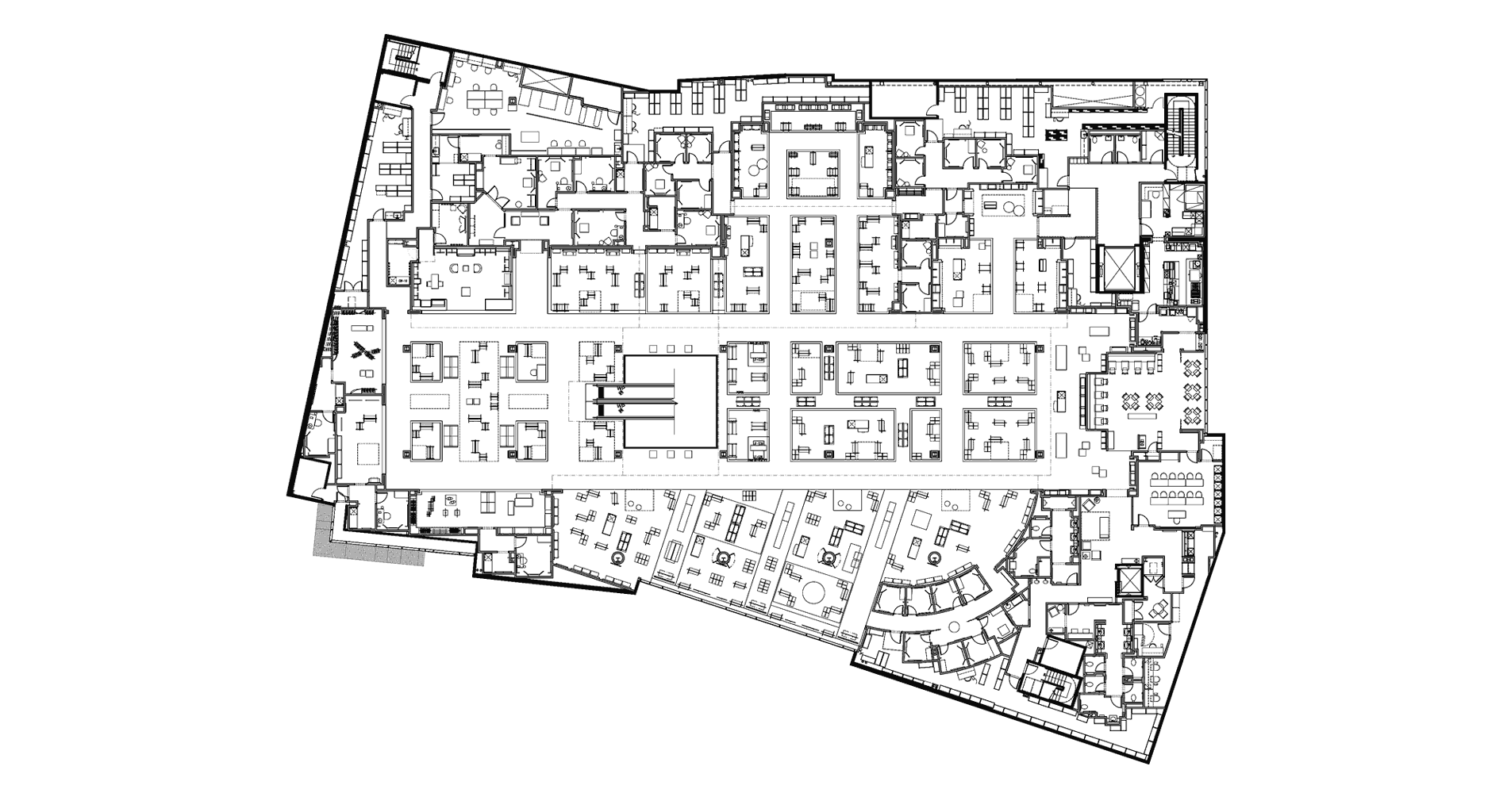 Neiman marcus broadway plaza level two floor plan for Broadway plan