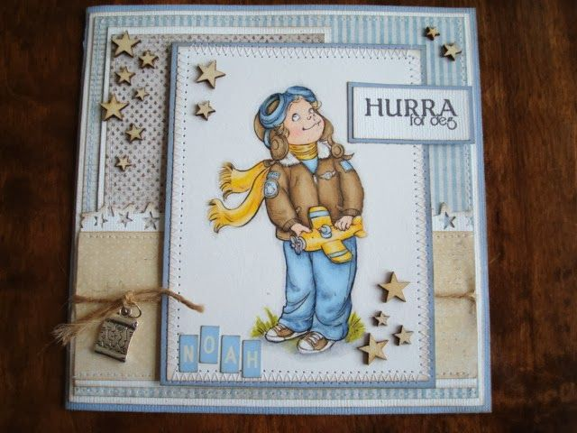 Berits Hobbyblogg: Barnekort