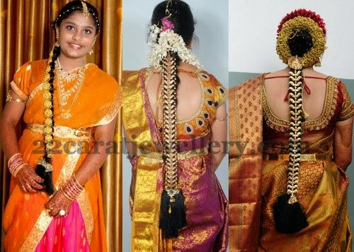 Jewellery Designs: Different Patterns Gold Jada Designs
