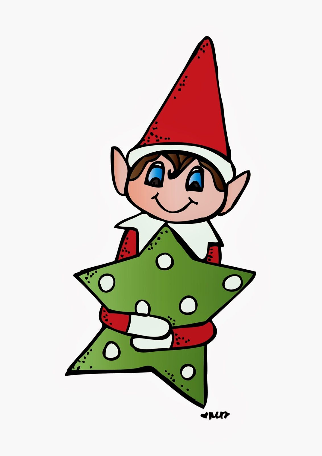 classroom fun elf on the shelf kindergarten christmas pinterest rh pinterest com elf on the shelf girl clip art elf on the shelf clip art black and white