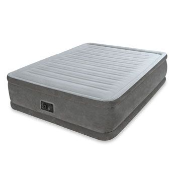 Costco Uk Intex Queen Comfort Plush Elevated Airbed With Built