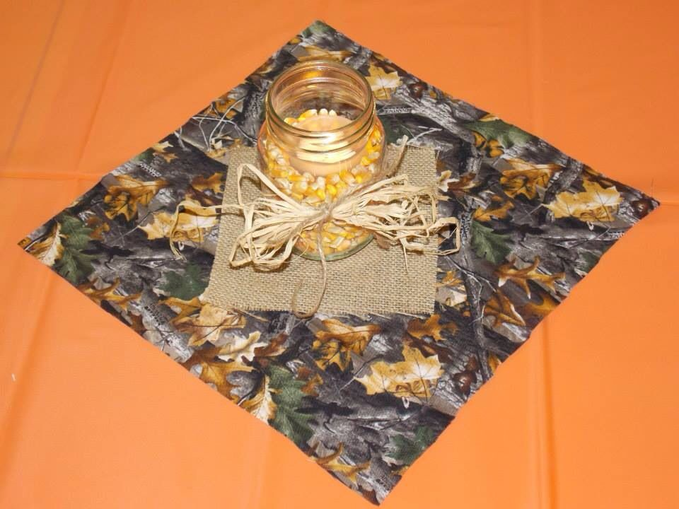 Table Decor For Hunting Theme Party Hunting Theme Party Hunting