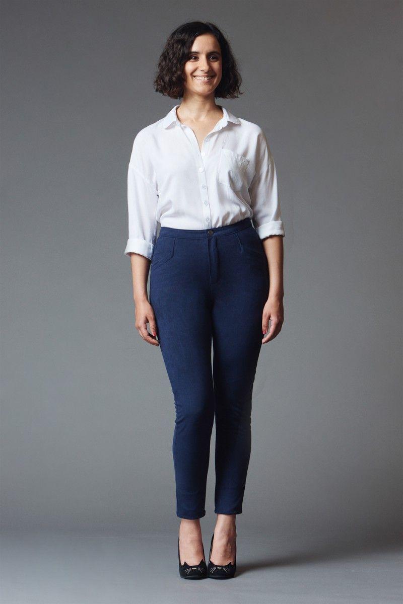 Safran skinny jeans Deer & Doe | Sew Pants & Shorts | Pinterest