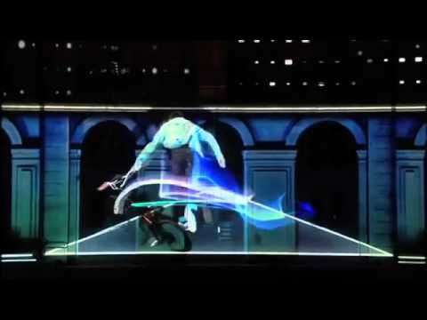 id.스포츠퍼포먼스 Adidas France - 3D Mapping Projection