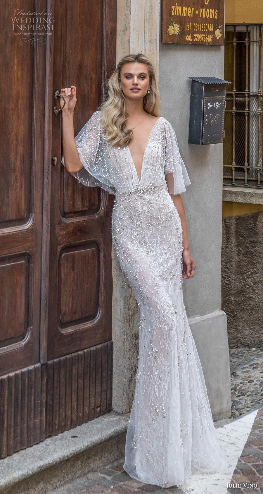 """Julie Vino Herbst 2020 Brautkleider – Brautkollektion """"Bellagio""""   – * Latest Wedding Dresses & More…"""