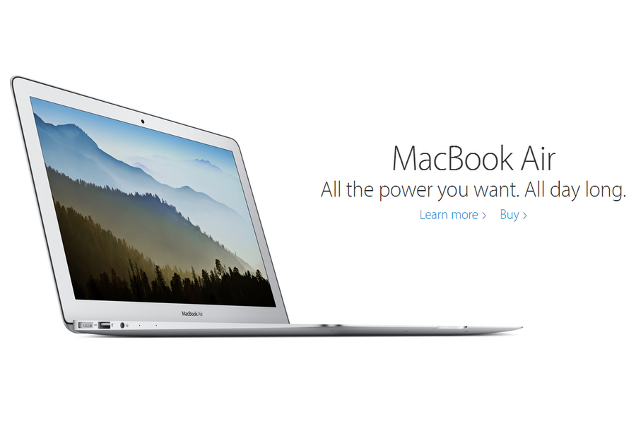 The New Thinner And Lighter Macbook Air Features A Retina Display Touch Id And The Latest Generation Butterfly Keybo New Macbook Air Macbook Air Apple Laptop