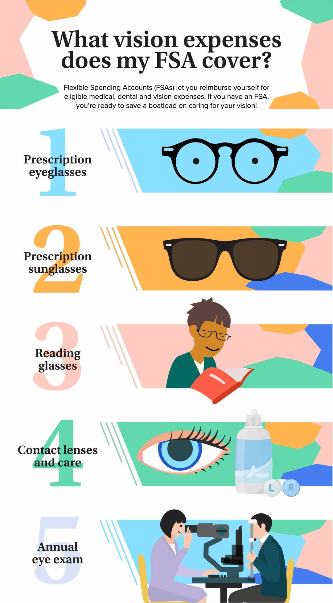 5 Ways To Use Your Fsa For Vision Care Eye Health Eye Exam