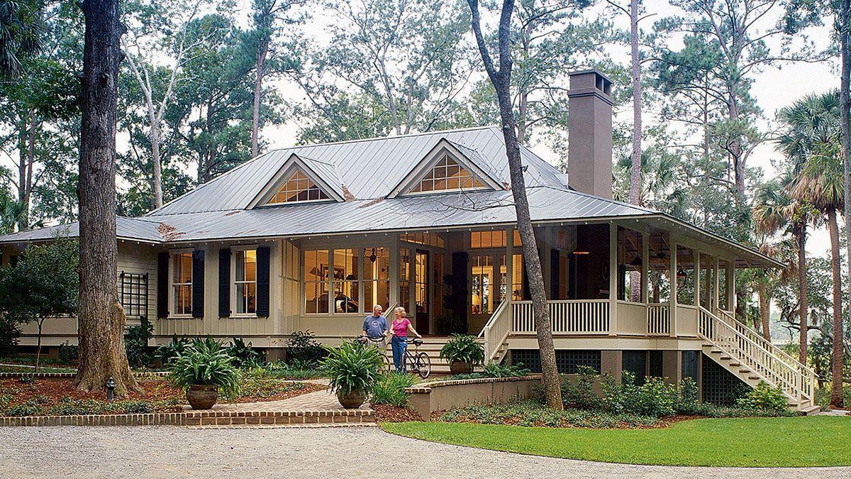 45 modern farmhouse exterior one story wrap around porches
