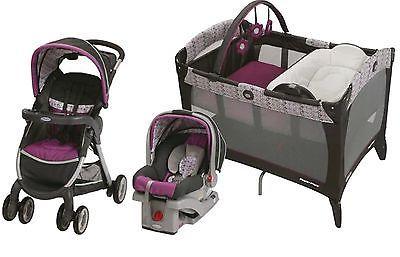 Gracot Baby Stroller Car Seat, Nursery Playard Travel ...