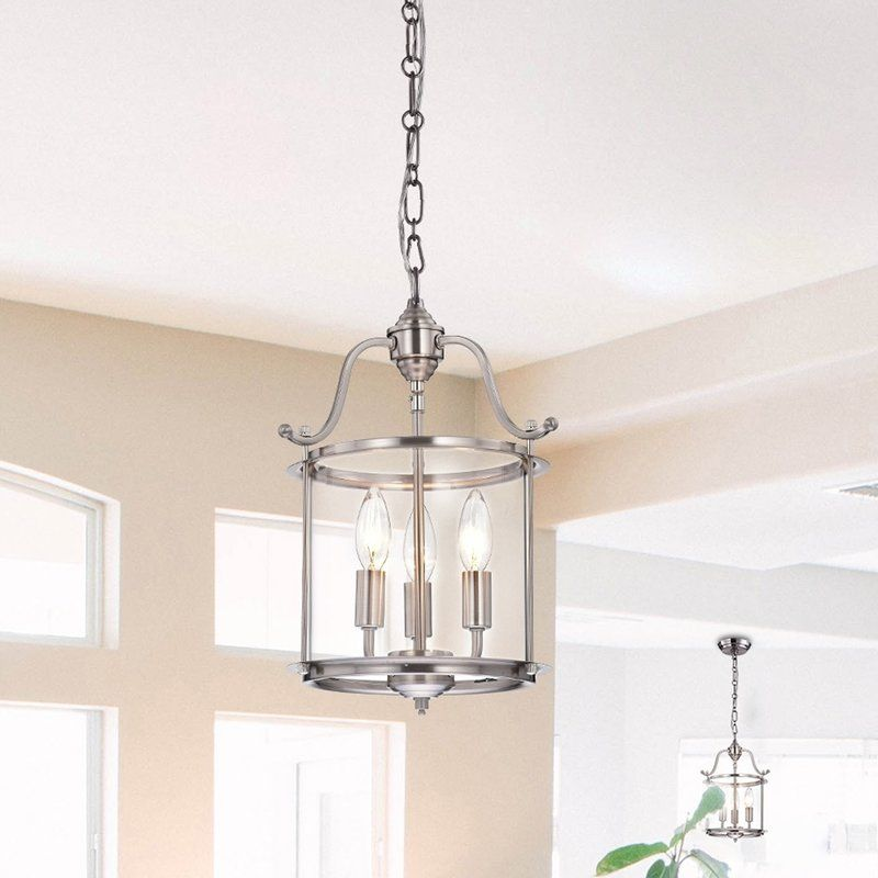 Indoor 3 light foyer pendant lighting pinterest indoor 3 light foyer pendant aloadofball Images
