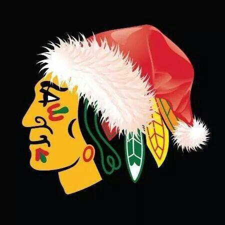 merry christmas from the blackhawks - Blackhawks Christmas