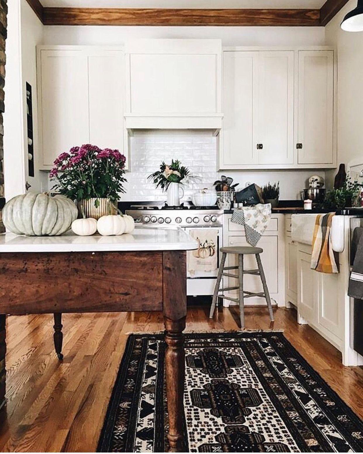Hardwood Floor Oriental Rug Stand Alone Tabletop Farmhouse Kitchen Design Sweet Home Interior Design Kitchen Rug in kitchen with hardwood floor