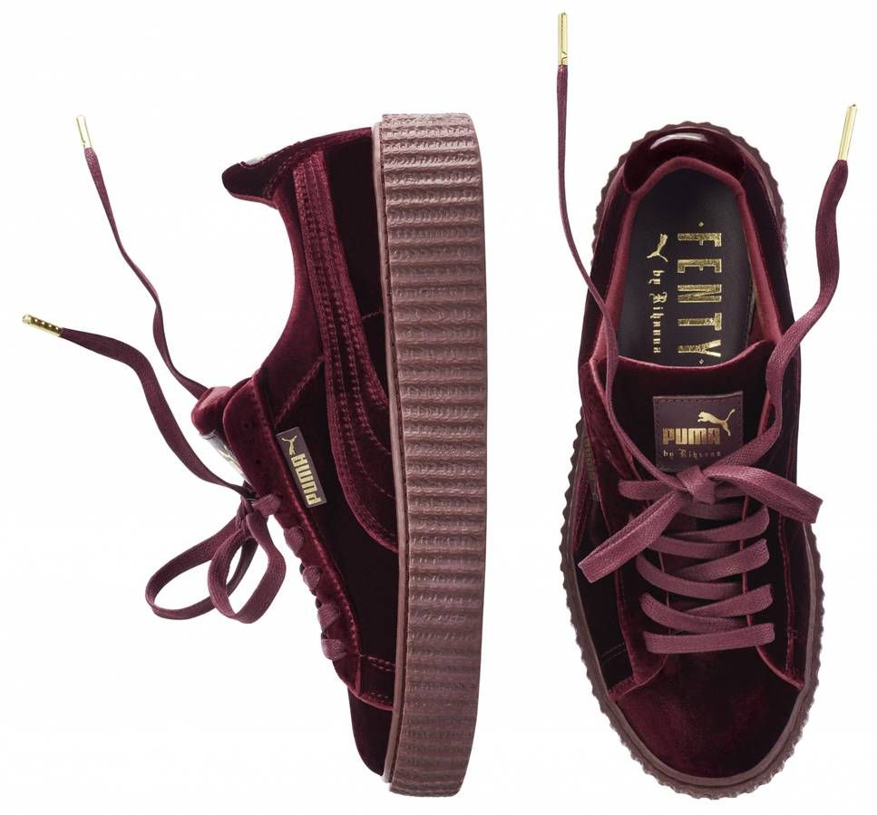 low priced 5f439 28cce pumashoes$29 on | Puma | Rihanna puma creepers, Puma ...