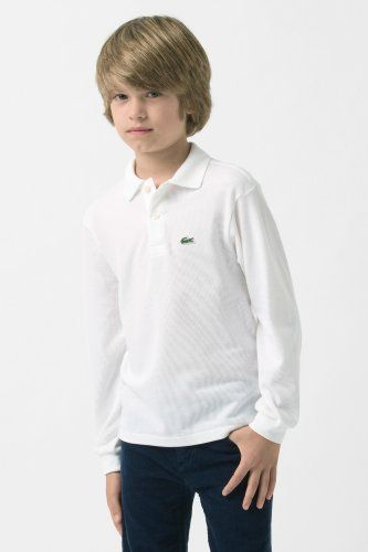 198b84afa Lacoste Long Sleeve Classic Pique Polo : Boys $52.00 Navy And White, Lacoste,  Sportswear