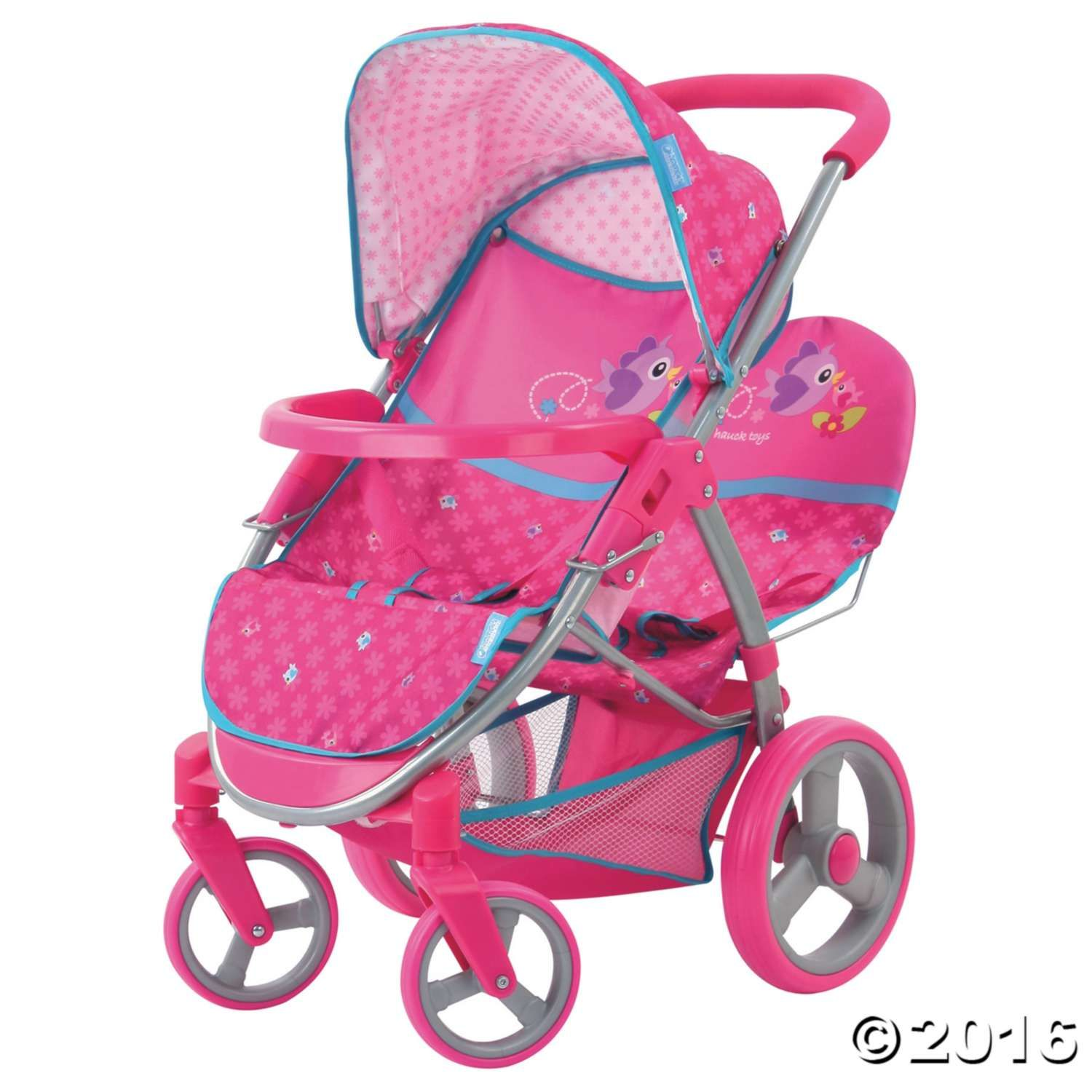 Malibu Double Doll Stroller MindWare Baby doll