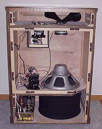 ▷ how to build a custom leslie speaker for a hammond organ - part 1
