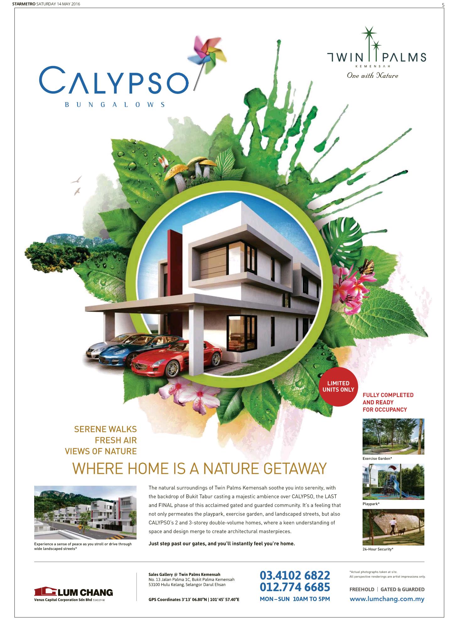 Calypso Twinpalms Brochure Design Advertising Design